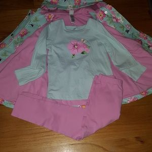 NWOT Little Me Pink Outfit Toddler